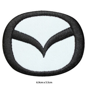 Mazda Car Brand Logo Racing Sponsor Embroidered Patch Iron on Sew On Badge