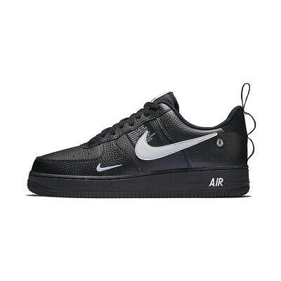 Nike Air Force 1'07 LV8 9 utilitaire Noir AJ7747 001 Blanc cassé Af1 basse Travis OG | eBay