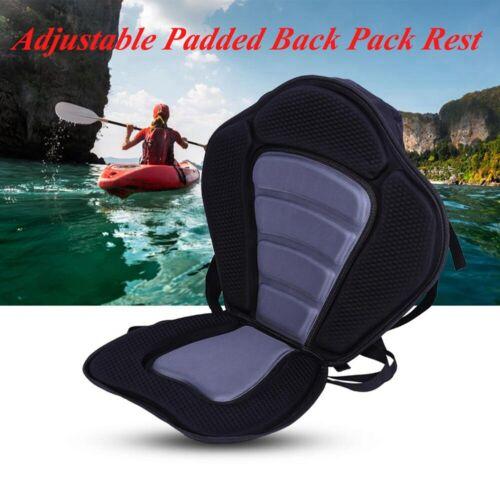 Deluxe Universal Kayak Seat Sit On  Canoe Back Rest Detachable Fishing Boat
