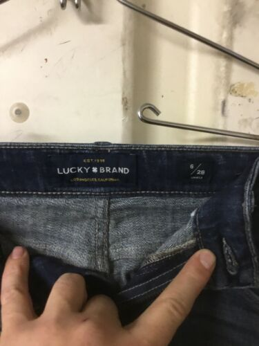 Artesia Cut Lucky Jeans Rider Easy Medium Womens Boot Brand 6 Marchio Wash 28 gwzw6qSav