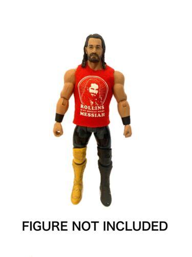 "WWE SETH /'Rollins est mon lundi soir Messie /""Custom Shirt pour Mattel figures."