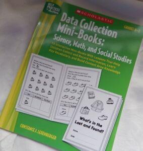 Scholastic-Data-Collection-Mini-Books-Science-Social-Studies-homeschooling-K-1-2