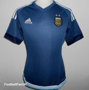 La imagen se está cargando Argentina-Oficial-Adidas-Futbol-Visitante-Camisa- 2015-2016- baab8fc1822b4