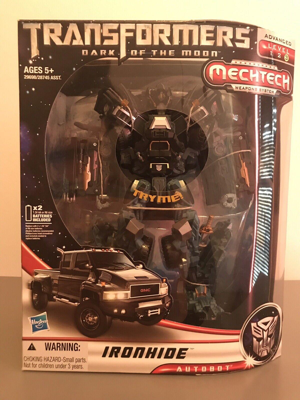 Transformers Dark of the Moon DOTM Leader classe Ironhide