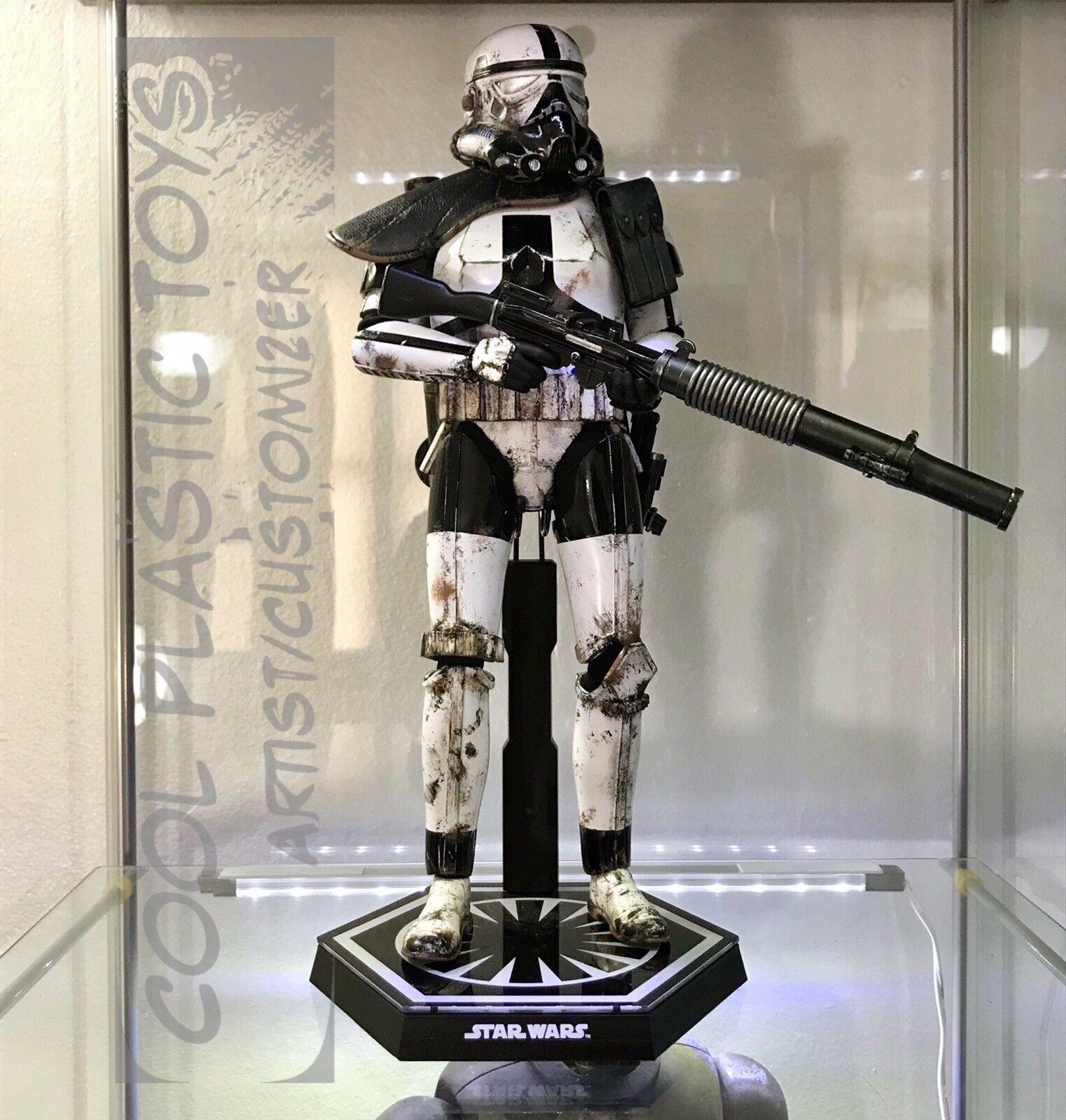 Tienda de moda y compras online. Sideshow Hot Juguetes Estrella Wars Stormtrooper Imperial escala 1 1 1 6 figura Personalizada  autorización oficial