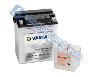 BATTERIA-MOTO-14Ah-VARTA-12V-190A-di-spunto-Powersports-STANDARD-514011014-YB14L