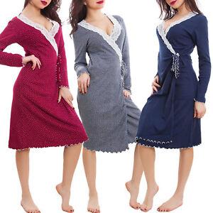 Vestaglia-donna-incrociata-veste-da-camera-lingerie-intimo-felpata-nuova-S-126