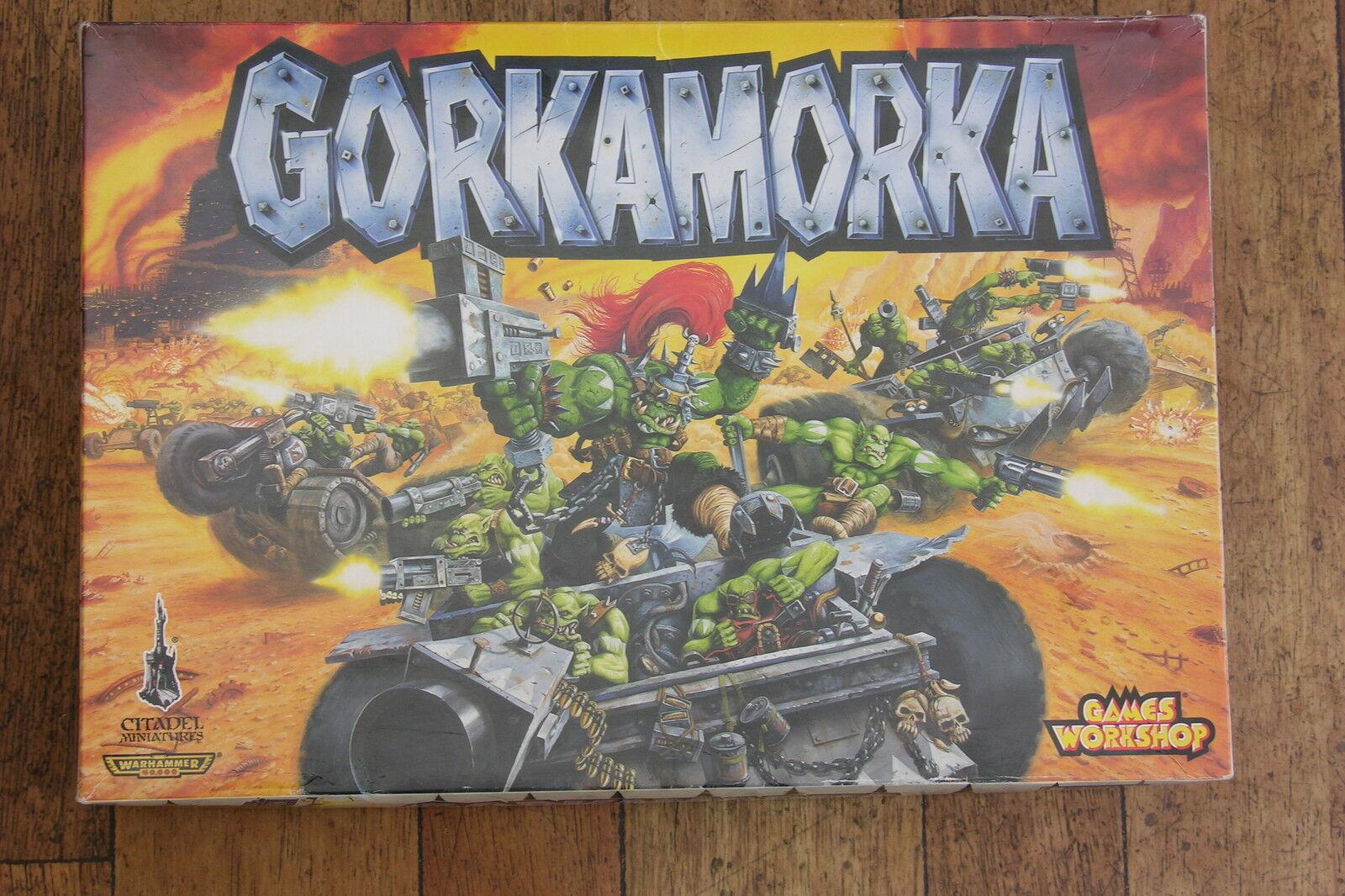 GAMES WORKSHOP   GORKAMORKA      INCOMPLETE BUT PLAYABLE