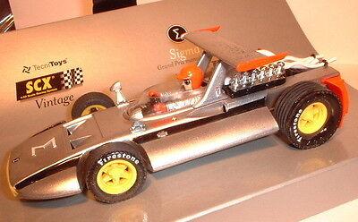 Spielzeug Sincere Qq 60910 Scalextric Scx-export Vintage 2002 Sigma Grand Prix Monoposto F1