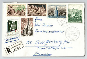 LUXEMBOURG-1964-cover-to-Germany-Z13127
