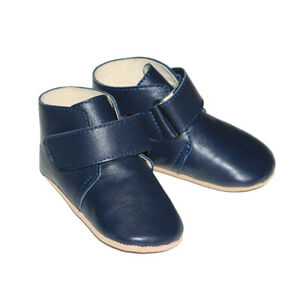 NEW-SKEANIE-Pre-walker-Oxford-Baby-Boots-Navy-0-to-2-years