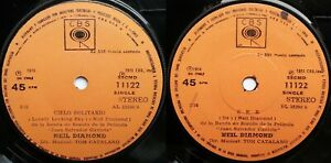 NEIL DIAMOND LONELY LOOKING SKY/BE 1974 SPANISH TITLES CHILEAN PRESS! 1ST PRESS!