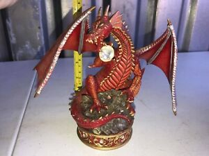Youngblood-The-Guardian-Treasure-Dragon-039-s-Collection-Sculpture