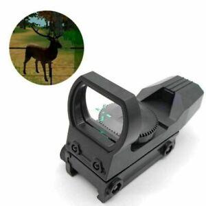 20mm-Rail-Riflescope-Hunting-Optics-Holographic-Red-Dot-Sight-Reflex-4-Reticle
