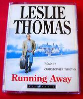 Leslie Thomas Running Away 2-Tape Audio Book Christopher Timothy