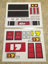 NEW Jumbo Machinder Daitesujin 17 / D17 Taiwan Version Complete Decal Set -VINYL