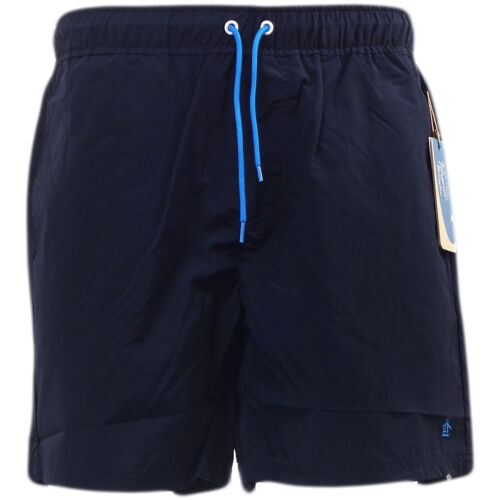 """NEUF avec étiquettes 5000 Taille s W30/"""" Penguin Homme Bleu Marine Natation Shorts,"""