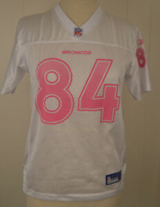 pink youth broncos jersey