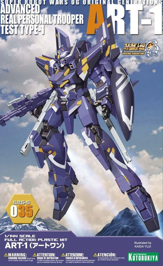 Kotobukiya Super Robot guerras Og SRG-S 035 ART-1 1  144 Kit modellolo Nuovo da  a buon mercato