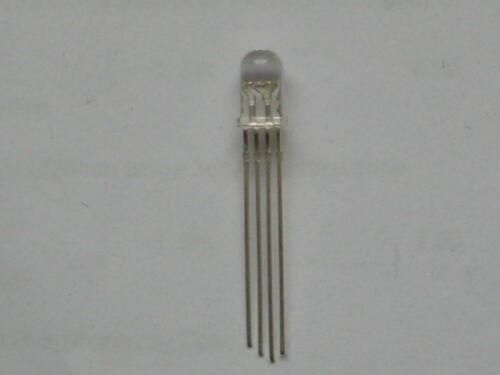 10 unidades diodos luminosos//LED//5mm RGB//rojo-verde-azul//común cátodo - Pol