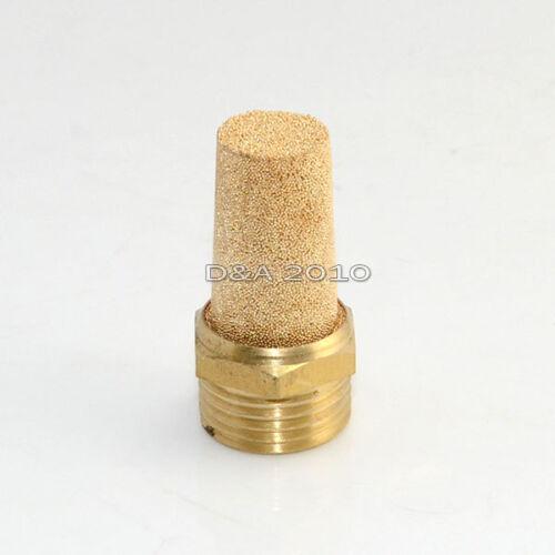 Pneumatic Muffler Filter Sintered Bronze 3//8 BSPT by MettleAir