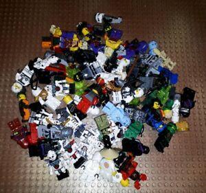 5-Unterschiedliche-Lego-Ninjago-Figuren-mit-Zubehoerteil-Waffe-Minifig