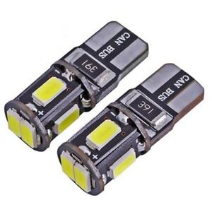 2X-T10-Auto-Birnen-LED-Canbus-6smd-Xenon-501-Standlichter-Licht-Sch-n-Stil
