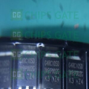 6PCS-IRG4RC10SD-Encapsulation-TO-252-INSULATED-GATE-BIPOLAR-TRANSISTOR-WITH