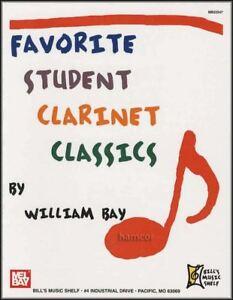 Marque Populaire Favorite Student Clarinet Classics Sheet Music Book-afficher Le Titre D'origine
