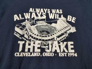 online store ab15e b0d6a Details about Cleveland Indians The Jake Playoffs T Shirt Jacob's Field  Always Was Will Be