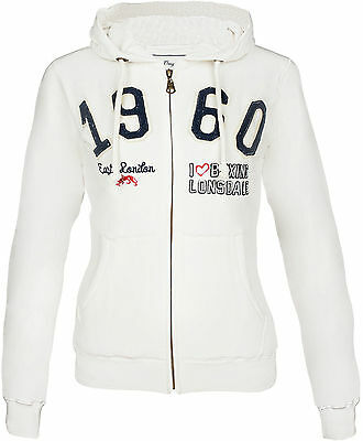 Lonsdale Ladies Hooded Zipsweat CRAIGAVON 114419 New Style 2018 Fitness Club