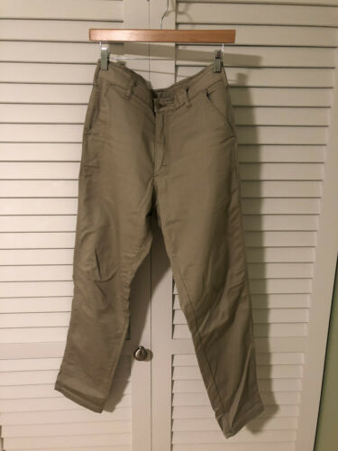 Stan Ray Men's Khaki Chino Pants Size 30x30