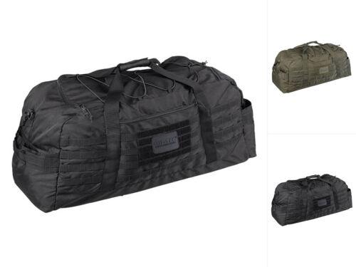 Mil-Tec Fliegertasche Combat Large 105l Tragetasche Sporttasche Schwarz Oliv