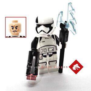 Lego Star Wars Last Jedi First Order STORMTROOPER EXECUTIONER Mini Figure 75197