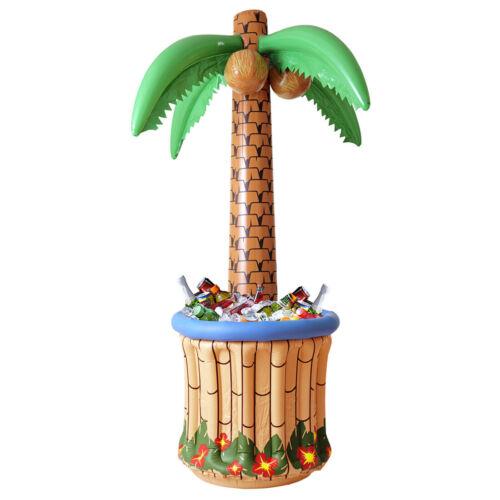 Aufblasbare Palme mit Getränkekühler Partypalme Flaschenkühler Aloha Hawaii Deko