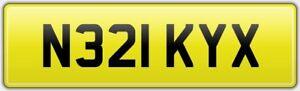 NIKKY-X-OLD-RARE-CAR-REG-NUMBER-PLATE-N321-KYX-NICKY-NIC-NICOLA-NIKKI-NIK-KISS