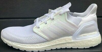 Details about ADIDAS ULTRABOOST 20 RUNNING SHOES FW8721 CLOUD WHITE/ IRIDESCENT PINK NEW MENS