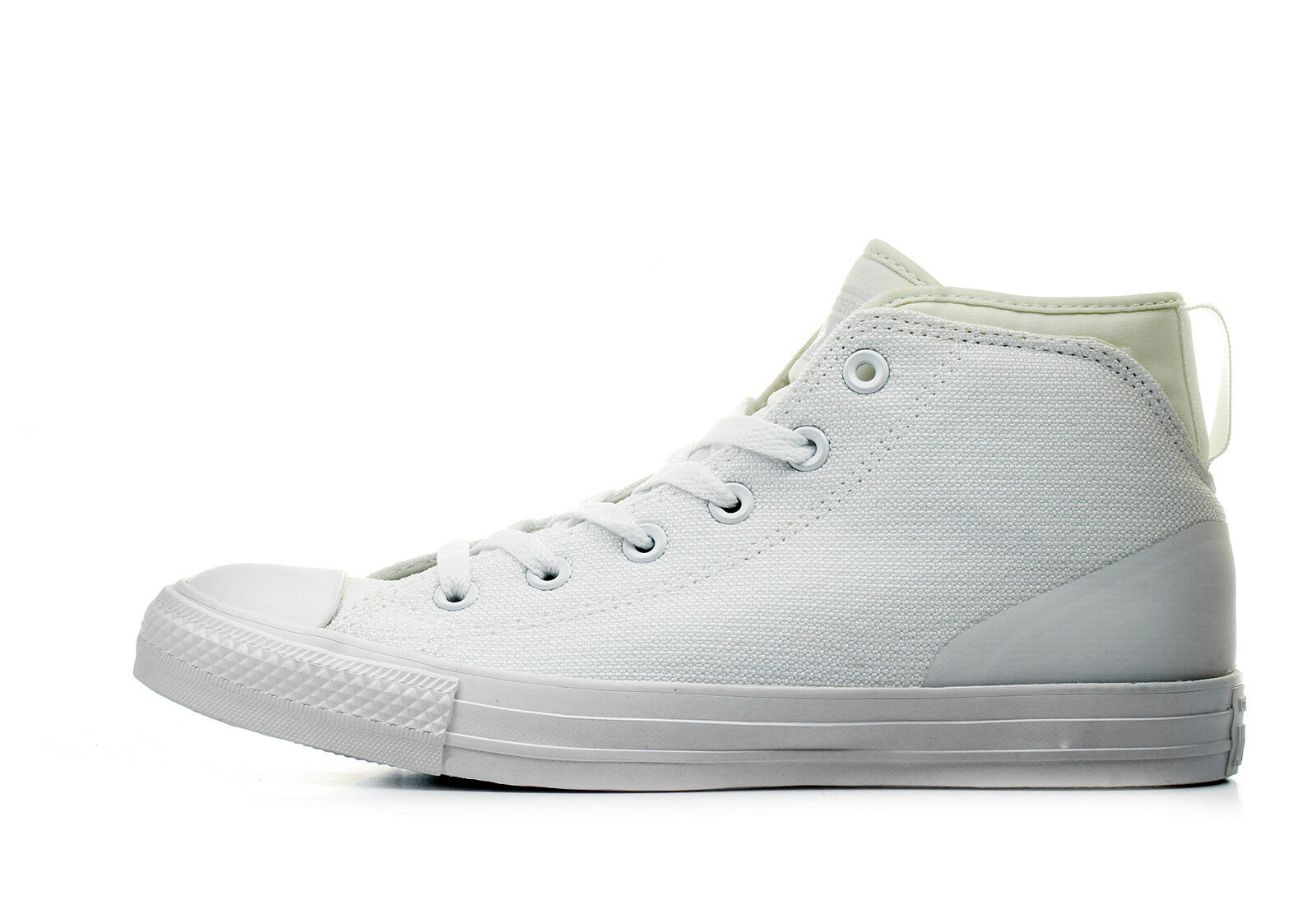 CONVERSE CT CHUCK STREET TAYLOR ALL STAR SYDE STREET CHUCK MID MENS 155490C White NEW bba354