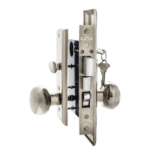 Angal Locks Mortise lock set 715A 26D Silver