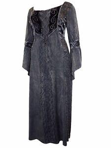 eaonplus black dark seduction rayon velvet laceup corset