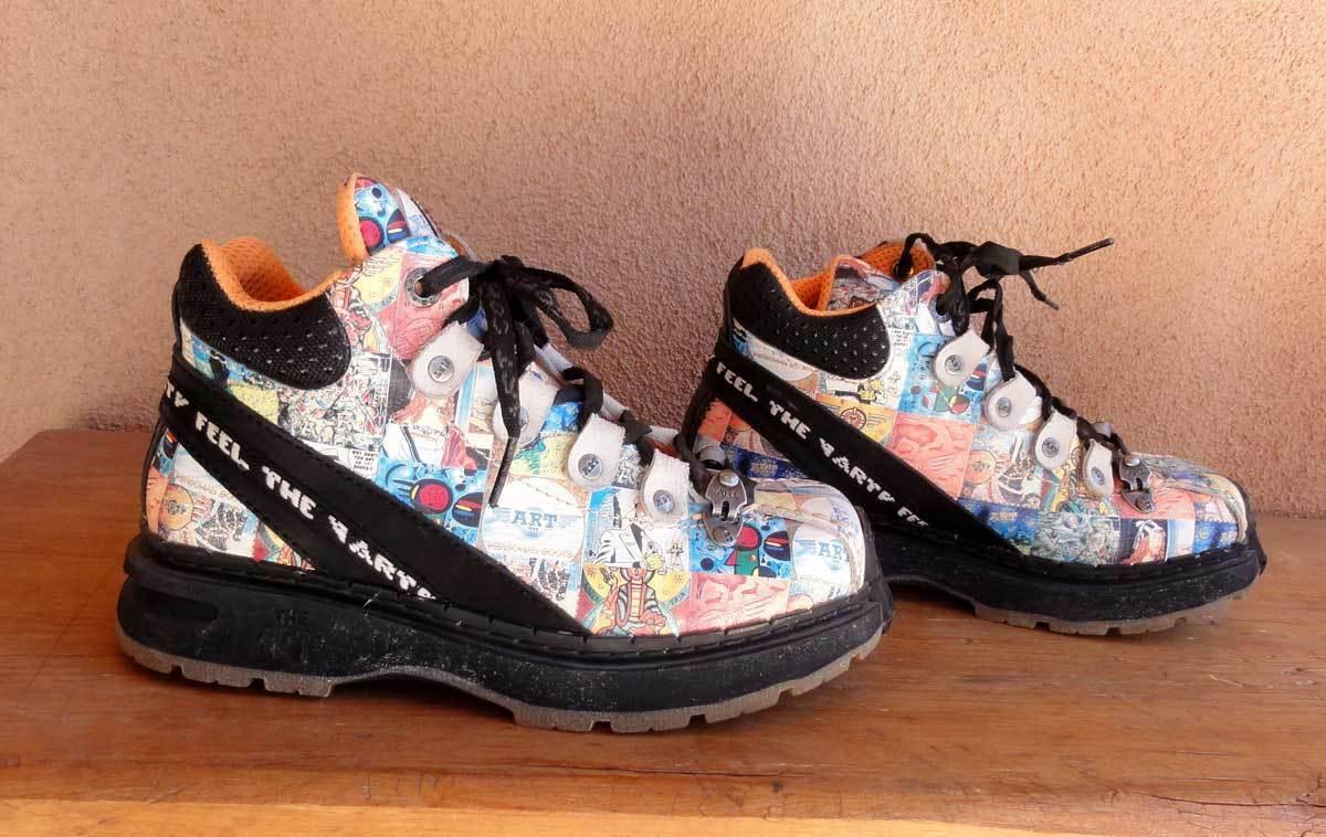 The Art Company Boots Traveller DAS Libertad Comic Men 5 Women 6 Euro 36