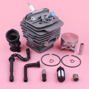 48mm-cylindre-a-piston-Collecteur-d-039-admission-Kit-pour-Stihl-MS360-036-034