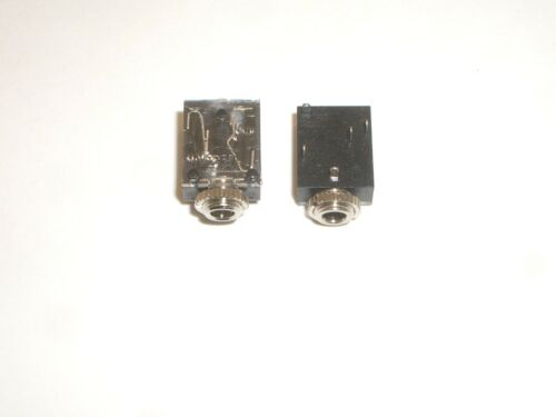 PHILMORE 502J 3.5mm STEREO AUDIO PHONO PHONE JACK CONNECTOR w// DUAL N.C SWITCH