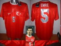 Turkey Emre Adult Xl Nike Shirt Jersey Football Soccer Türkiye Fenerbahçe