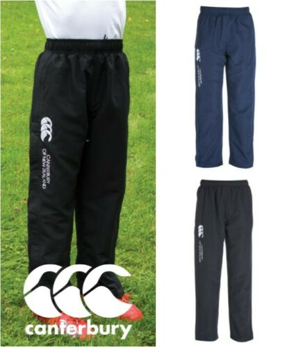 Navy childrens football trousers sport Black Canterbury Kids Stadium Pants