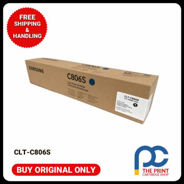 New & Original Samsung CLT-C806S Cyan Toner Cartridge