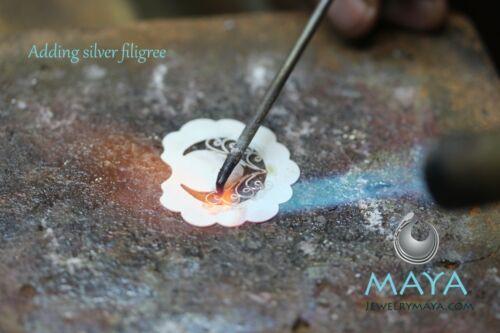 Handmade Filigree Flower Earrings