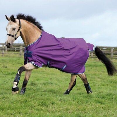 Acquista A Buon Mercato Horseware Amigo Bravo 12 Turnout 100g-purple/navy-coperta Pascolo- Sapore Fragrante (In)