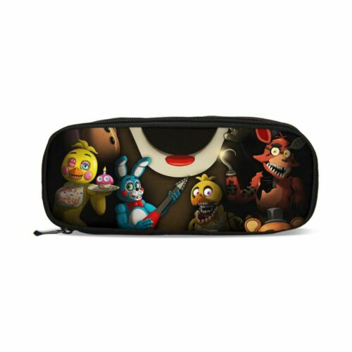 Five Nights At Freddy/'s Schoolbag Backpack Insulated Lunch Bag Pencil Case LOT