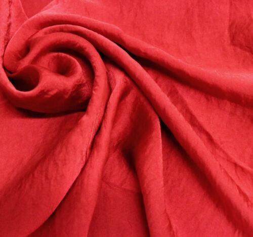 Satin Chiffon Fabric by the Yard